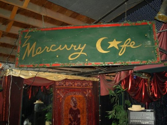 Mercury Cafe 2199 California Street, Denver, CO 80205 (303) 294-9258